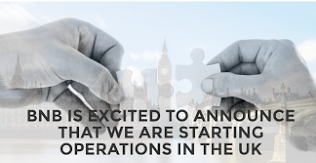 BNB starts operations in UK