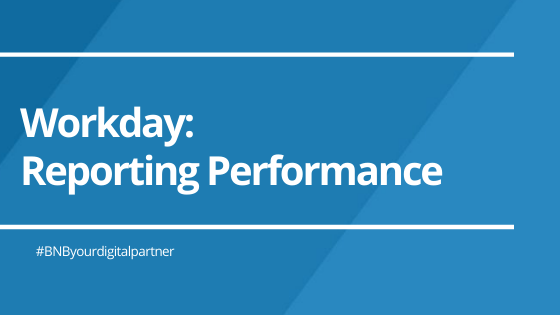 Reporting Performance