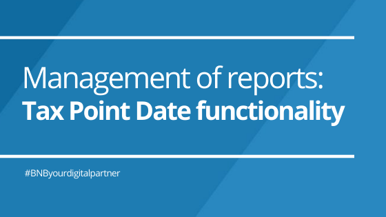 """Management of reports: Tax Point Date functionality, compliance with """"Régimen Especial Criterio de Caja"""""""