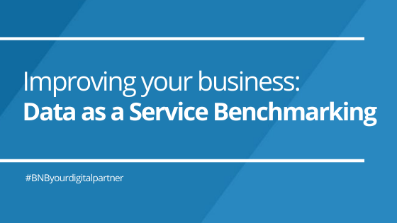 Improving your business: Data as a Service Benchmarking