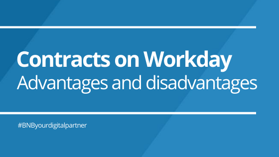 Advantages and disadvantages of proposing clients to generate Contracts on Workday