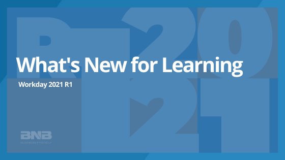 What's New for WD 2021 R1: Learning