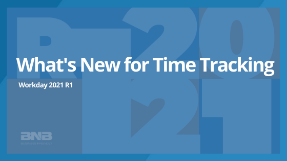 What's new in WD 2021 R1: Time Tracking