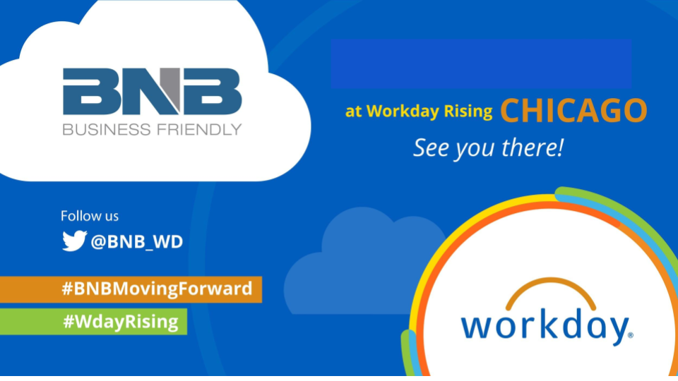 BNB @ Workday Rising – Chicago 2017