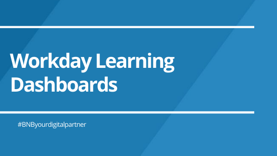 Workday Learning Dashboards