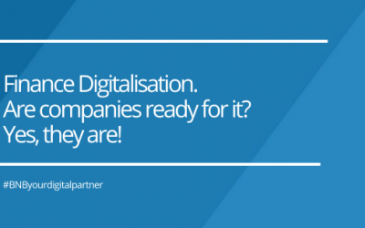 Finance Digitalisation. Are companies ready for it? Yes, they are!