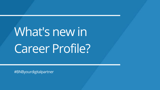 What's new in Career Profile?