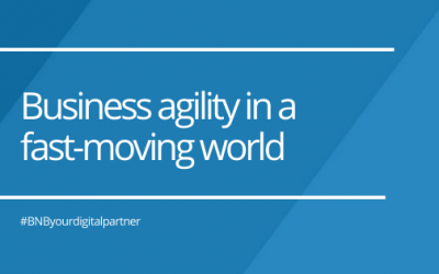 Business agility in a fast-moving world