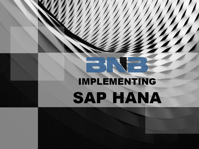 BNB in SAP HANA World