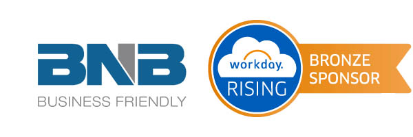 BNB sponsor of  Workday Rising Europe – 2016