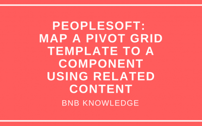 Map a Pivot Grid Template to a Component Using Related Content