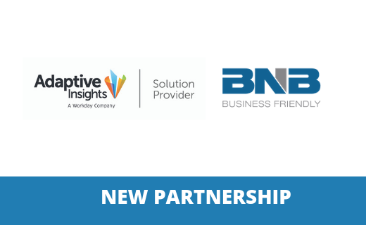 BNB & Adaptive Insight Partnership