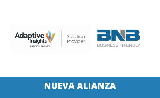 Alianza de Adaptive Insights & BNB