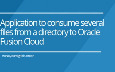 Application to consume several files from a directory to Oracle Fusion Cloud