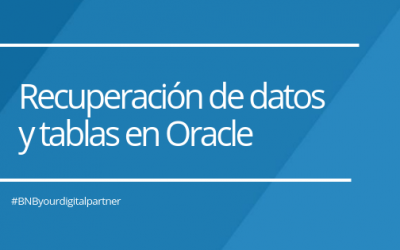Recuperación de datos y tablas en Oracle