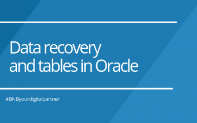 Data recovery and tables in Oracle